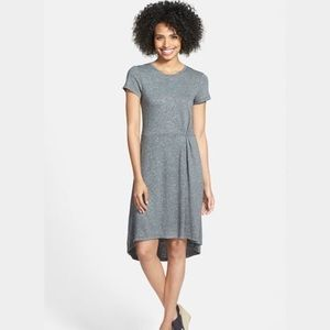 Halogen medium length grey dress XL